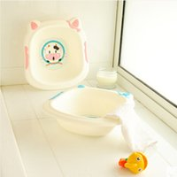 Wholesale 2015 New Retail Inflatable baby washbasin newborns washbasin Eco friendly portable infant washbasin children christmas gifts