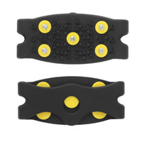 Wholesale New Arrival Anti Slip Snow Ice Climbing Spikes Grips Crampon Cleats Stud Shoes Cover