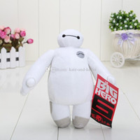 Wholesale New inch cm hands can not move Baymax Big Hero Stuffed Animals Plush Toy With Tag in opp bag
