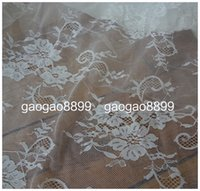 Wholesale Beautiful Materials Soft African Plain Woven Lace Venice High Quality Fabric Wedding Evening Dress Gown Skirt Bridal Table Cloth Arabic