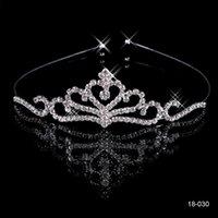 rhinestone hair comb - 2015 Cheap Crowns Popular Beautiful Hair Accessories Comb Crystal Rhinestone Bridal Wedding Tiara inch inch