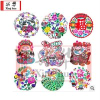 Wholesale 2015 Real Scrapbooking Manualidades High Quality Art Collectible Hand Made Crafted Traditonal Chinese Paper Cutting Cut out