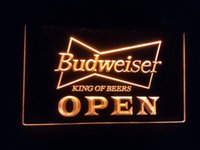 Wholesale jb OPEN Budweiser Beer NR Pub Bar LED Neon Light Signs