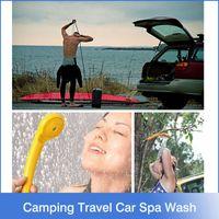 Wholesale 2015 Hot Sale Promotion Ce Washing Machine Parking v Camping Hiking Travel Car Pet Shower Spa Wash Kit