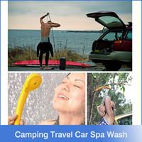 achat en gros de car wash machine-Camping Randonnée Voiture Voyage Pet Douche Kit Spa Wash Hot Sale Promotion Ce lave-linge Parking