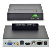 Wholesale Network P Full HD Media Player HDMI TV BOX Android OS x USB2 Support quot External SATA HDD