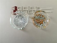 oil color - Two color oil ring ashtray glass ashtray dish OIL RIG DISH DABBER and B glass smoke nail CNmengglass
