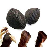 hair sponge - 1 Sets New Sponge Hair Maker Styling Twist Magic Bun Hair Base Styling Insert Tool Volume