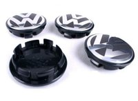 beetle cup - VW Car Wheel Center Hup Plastic Black Cups cap covers For Jetta Bora Sagitar Magotan Touran Passat Phaeton Touareg Beetle Tiguan