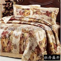 Wholesale 100 mulberry silk quilt sided fight every single double size can be customized Home Textile Duvet Cover