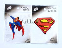 t-shirt heat transfer - Mixed New Superman On Heat Transfer pattern Patches DIY Stickers iron on Clothes T Shirt