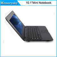 Wholesale 10 inch mini Netbook Quad core GHz GB GB MP Camera Cheap Laptop notebook DHL free