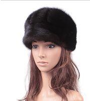 Wholesale The new mink mink fur mink hat lady elegant whole entire winter fur hat