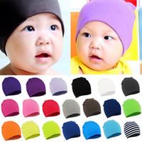 Cotton boys beanie caps - Hot Sales Toddler Infant Kids Children Soft Cute Knit Warm Hat Beanies Cap FX270