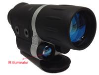 night vision goggles - 2014 NEW x42 Infrared Night vision scope Max m Iridium FMC Lens Protable Optical Night Vision Goggles Night Vision Scope