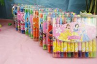 Wholesale HOT set Cartoon Rotary Crayon Painting Pens Students Children painting supplies durable environmental protection colors