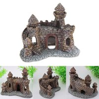 Wholesale New Fish Tank aquarium decoration Aquarium Castle Tower House Ornament Fish Tank Mouse over image to zoom