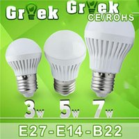 Wholesale LED Lamp Bubble Ball Bulb E27 B22 W W W W W Led Bulb Light Degree AC85 V Warm Cold White Discount Led Bulbs Home Led Lamp