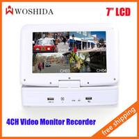 mobile dvr - HD CH Inch LCD Screen DVR Monitor Video Recorder WIFI Mobile Phone Remote View Woshida