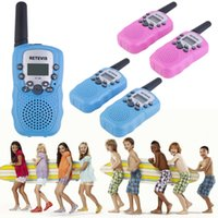 Wholesale 2x RT Walkie Talkie W CH Two Way Radio For Kids Children Gift Hot Selling