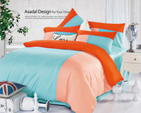 Wholesale Ywxuege bedding set Reactive delicate colors reactive printed bedcover set bed sheet queen