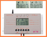 mppt - 2015 A MPPT LCD Solar Charge Controller V V W W Solar Panel Regulator Auto Work Hot Sale A3