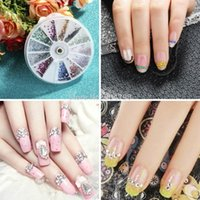 Wholesale 1set New fashion mm Nail Art D DIY Rhinestones Decoration High Quality