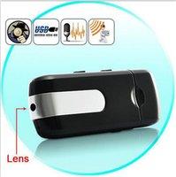 Cheap DVR Mini U8 Hidden HD Portable Spy Camera Recorder U Disk Black Color