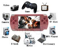 Wholesale 2013 Newest inch TFT screen GB multi media handheld MP5 game player built in popular games