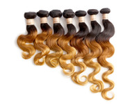 virgin brazilian hair - 150g b33 Brazilian Body wave Virgin Brazilian Hair Remy Human Hair Extensions Unprocessed Human Hair Wefts Hair Weave H6047A