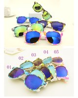 Cheap Hot New Fashion Camouflage Sunglasses Retro Style Unisex Sunglass 5 Designs For Men Women Teenagers Free Shipping
