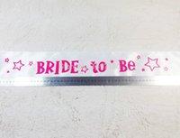 best hens - Suprising hot best price sweet bride to be sash bachelorette Hen nights events supplies favor wedding accessories bridal lover