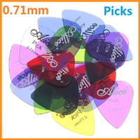 Wholesale High quality New Alice set mm Smooth Nylon Guitar Picks Plectrums sets Dropshippig