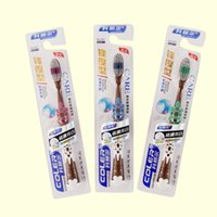 china market - Anti slip Plastic Handle Cheap Soft Bristle Top Quality Natural Top Toothbrush from China Market