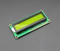 Wholesale hot sell New product Freeshipping LCD1602 LCD monitor V green screen and white code for arduino