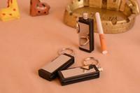 Wholesale New Plain Design Match Box cigarette Lighter Round All Metal Permanent Million Metal Matches