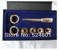 baja c - Professional Misic Trumpet Mouthpiece The baja style per set C C b b multi purpose trumpete blow mouth adapter Bb