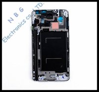 Wholesale 10pcs Original Front Middle Frame Housing For Samsung Galaxy Note N9000 Bezel Plate Tracking Number