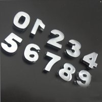 Wholesale Cool Newest sets Smooth Face Number Slide Charms Fit MM Belt Bracelets DIY Jewelry Gift