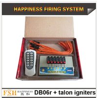 Wholesale 6 channels Wireless Remote Control with M talon igniters for fireworks