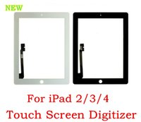 Wholesale For ipad OEM New Touch Screen Digitizer Glass Lens Replacement parts for ipad dhl