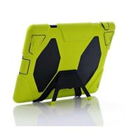 Cheap Extreme Military Survival silicone Heavy Dust Shock Proof Case Cover With stand holder For for iPad 2 3 4 5 6 mini 1 2 3 air air2 cheap dhl