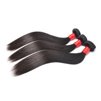 Wholesale 7A Unprocessed Indian virgin hair straight human hair weave bundles Indian straight virgin hair extension No Mix No Shedding