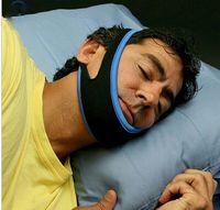 Wholesale 100pcs Free Size Stop Snoring Chin Strap Snore Belt Anti Apnea Jaw Strap Anti Snoring Solution