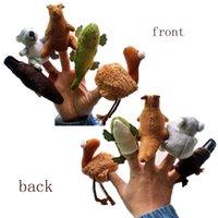 animal toy koala - Koala Kangaroo Duckbill Ostrich Crocodile Australian animal Finger Puppets Story telling Props baby learning plush toy