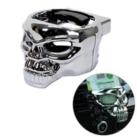 Wholesale Universal Car Clio On Air Vent Skull Drink Beverages Holder Stand