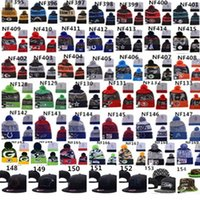 beanie hat - 2015 Team Beanies Caps Pom Sports Hats Mix Match Order Teams All Caps in stock Knit Hat Top Quality Hat More Styles