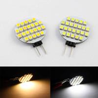Wholesale 10pcs G4 LED Lights LEDs SMD w Pure Warm White LED Color Bulb Lamp DC12V Dimmable