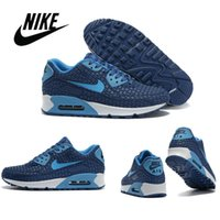 Cheap Nike Air Max 90 Men's Running Shoes Factory Outlet Sports Shoes Nike airmax 90 Mens Sneakers Black Red Green Blue Style Hight Qulity