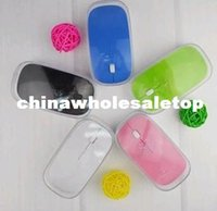 Wholesale Good quality Ultra Slim USB Wireless Mouse MIni Optical Mouse G with retail packaging
